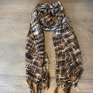 Accessories - Neutral Woven Scarf